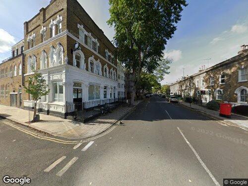 Welsford Street as seen on Google Street View