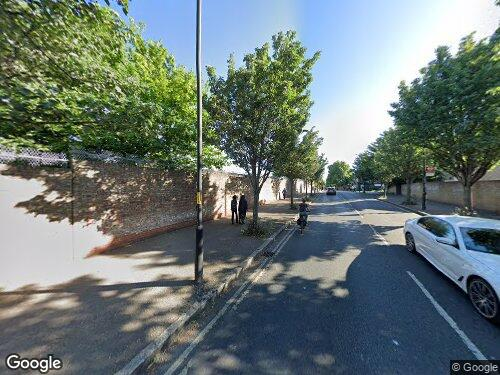 Dunton Road as seen on Google Street View