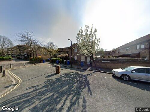 Strathnairn Street as seen on Google Street View