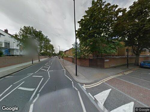 Setchell Road as seen on Google Street View