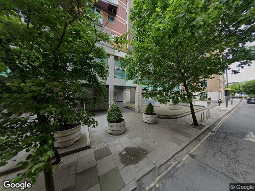 Black Prince Road as seen on Google Street View