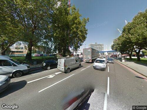 Newington Butts as seen on Google Street View