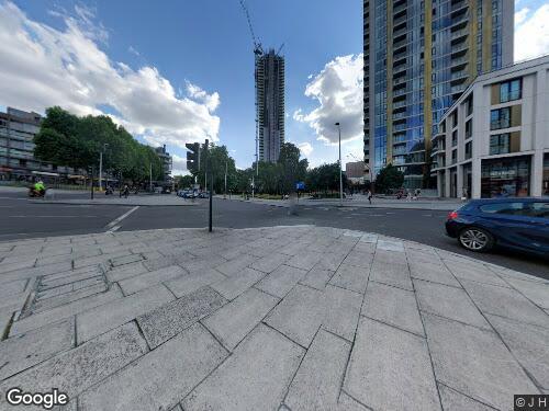 St Gabriel Walk as seen on Google Street View