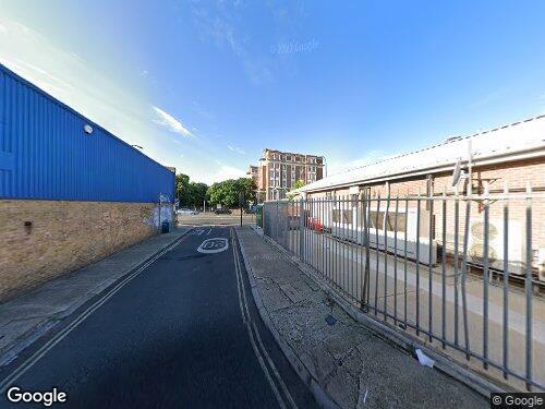 Theobald Street as seen on Google Street View