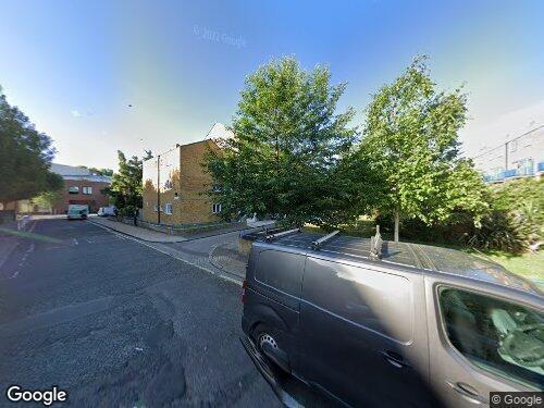 Burge Street as seen on Google Street View