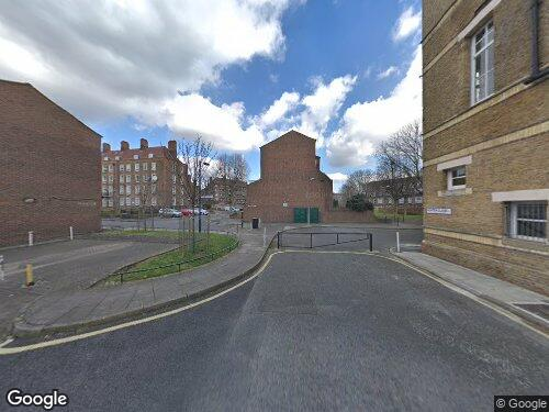 Hunter Close as seen on Google Street View