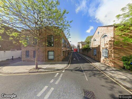 Fendall Street as seen on Google Street View