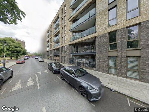 Grange Walk as seen on Google Street View