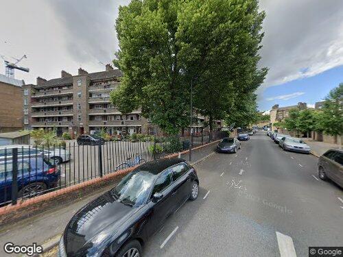 Cosser Street as seen on Google Street View