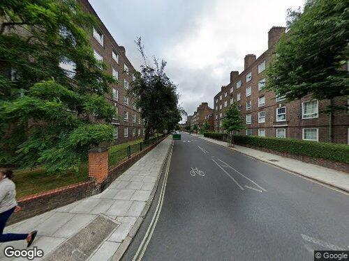 Law Street as seen on Google Street View