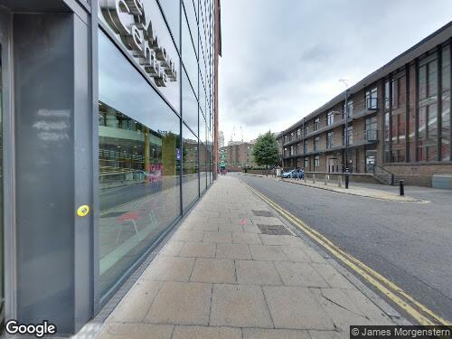 Keyworth Street as seen on Google Street View