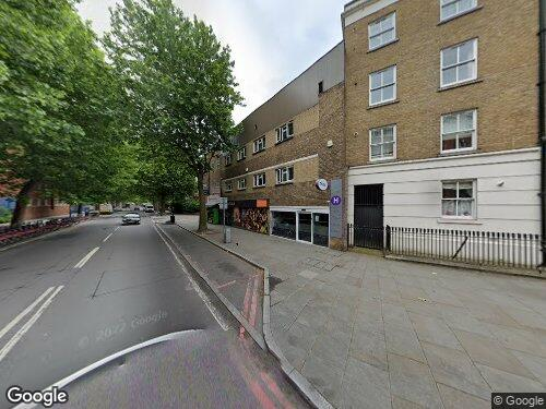 Great Dover Street as seen on Google Street View