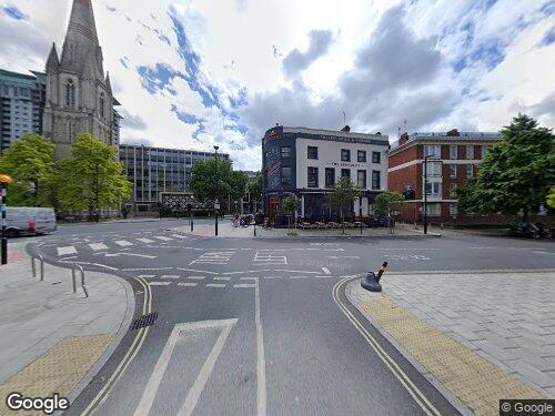 Newnham Terrace as seen on Google Street View