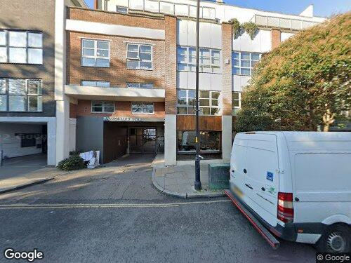 Market Yard Mews as seen on Google Street View