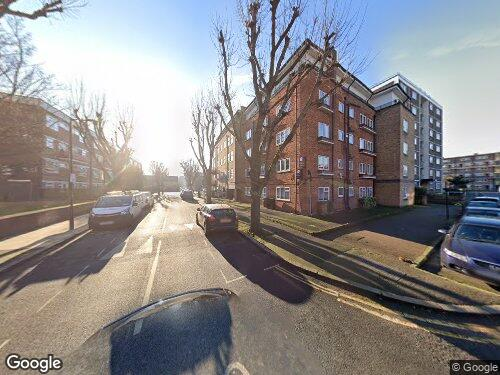 Maltby Street as seen on Google Street View
