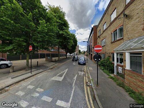 Morley Street as seen on Google Street View