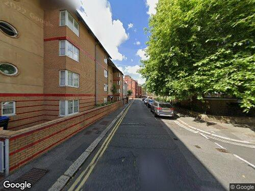 King James Street as seen on Google Street View