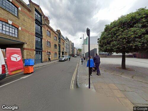 Bermondsey Street as seen on Google Street View