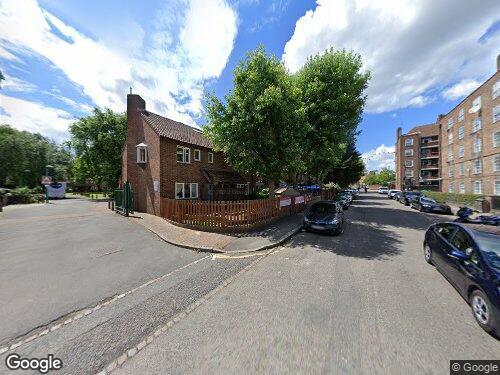 Frazier Street as seen on Google Street View