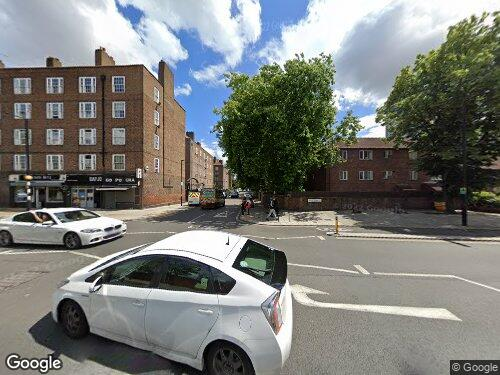 Baylis Road as seen on Google Street View