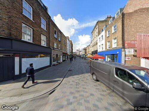 Grindal Street as seen on Google Street View