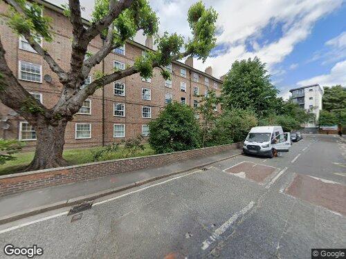 Toulmin Street as seen on Google Street View