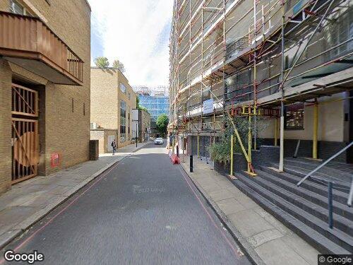 Three Oak Lane as seen on Google Street View