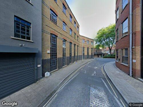 Boundary Row as seen on Google Street View