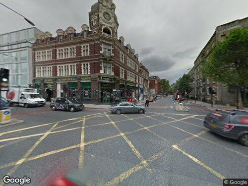 Tower Bridge Road as seen on Google Street View