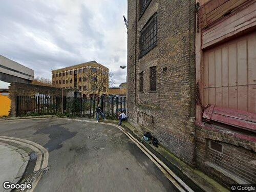 Vinegar Yard as seen on Google Street View