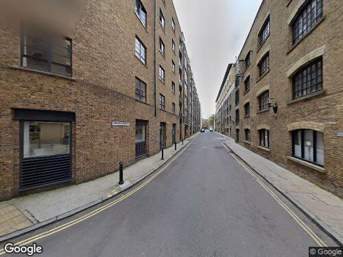 Shad Thames as seen on Google Street View