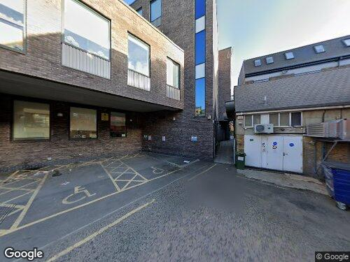 Burrows Mews as seen on Google Street View