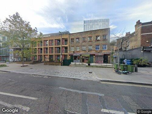 Great Suffolk Street as seen on Google Street View