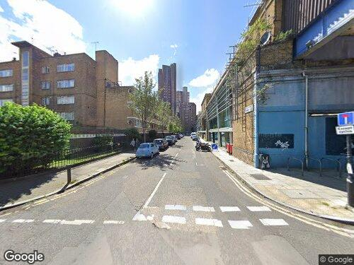 Wootton Street as seen on Google Street View