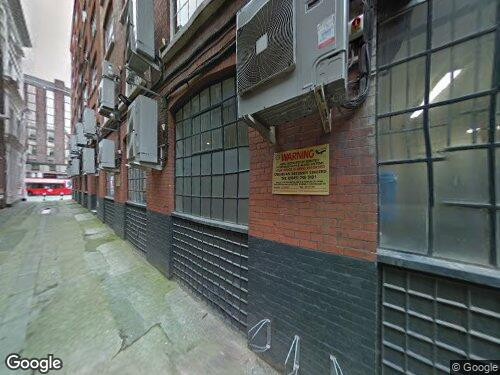 Keppel Row as seen on Google Street View