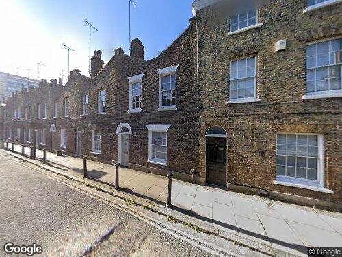 Roupell Street as seen on Google Street View