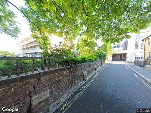 Secker Street as seen on Google Street View