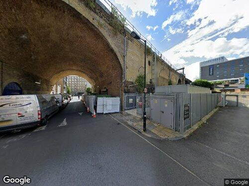 Dolben Street as seen on Google Street View