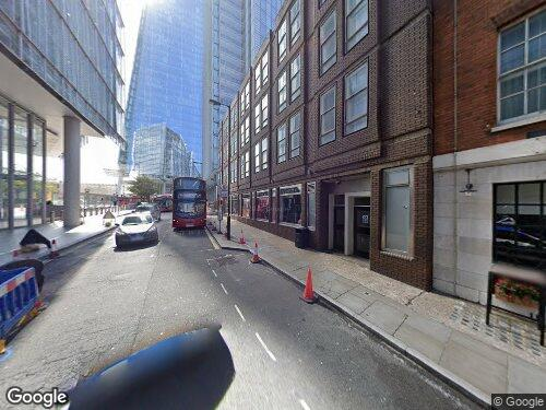 London Bridge Street as seen on Google Street View