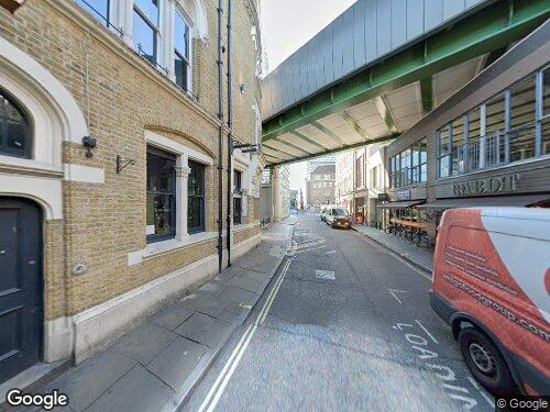 Bedale Street as seen on Google Street View