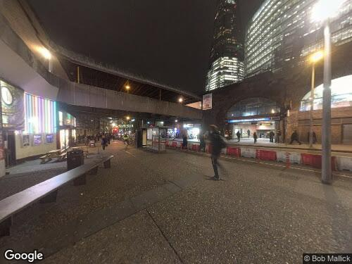 Joiner Street as seen on Google Street View