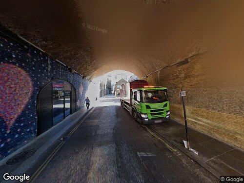 Stoney Street as seen on Google Street View