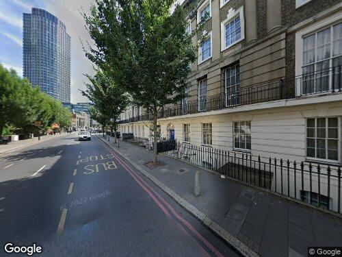 Stamford Street as seen on Google Street View