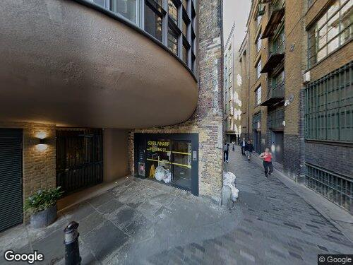 Clink Street as seen on Google Street View