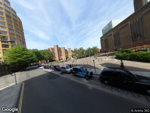 Holland Street as seen on Google Street View