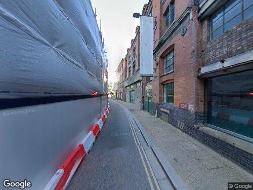 Barge House Street as seen on Google Street View