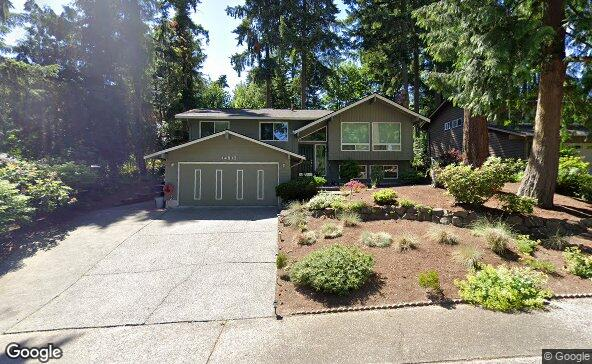 Street view of 14813 107th Ave Ne