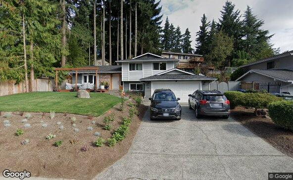 Street view of 15 219th Pl Sw