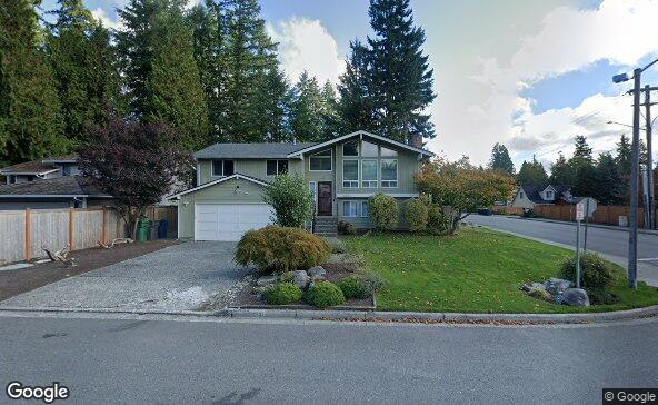 Street view of 16731 23rd Ave Se
