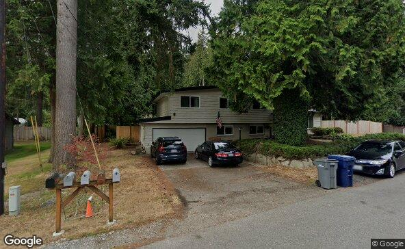Street view of 19226 2nd Ave Se